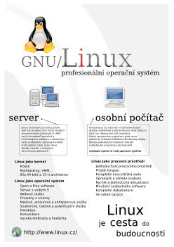 Linux - profesionální OS
